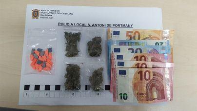 Un detenido por drogas en Ibiza por un dispositivo contra la venta ambulante