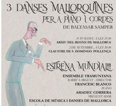'Tres danses mallorquines' de Baltasar Samper se estrena este viernes