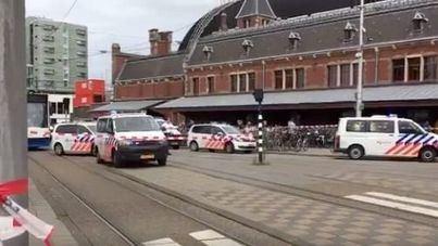 Nuevo ataque a cuchillo, esta vez en la estación de tren de Ámsterdam