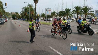 Cortes de tráfico a lo largo del Paseo Marítimo por la Santander Triathlon Series este domingo