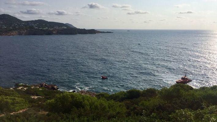 Encuentran el cuerpo sin vida del joven caído al mar este domingo en Ibiza
