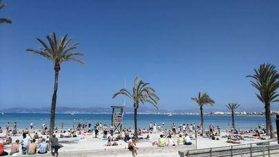Buen tiempo con ascenso de temperaturas en Mallorca
