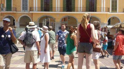 La llegada de turistas extranjeros a Balears baja un 0,4 por ciento con 7,8 millones hasta julio