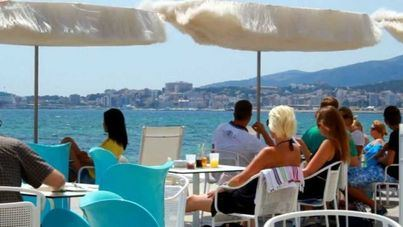 El gasto turístico crece un 0,6 por ciento hasta julio en Balears, con 8.161 millones