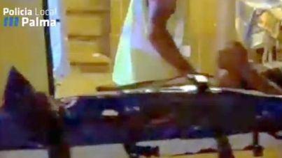 Abaten de un disparo a un hombre que ha apuñalado a dos turistas en Playa de Palma