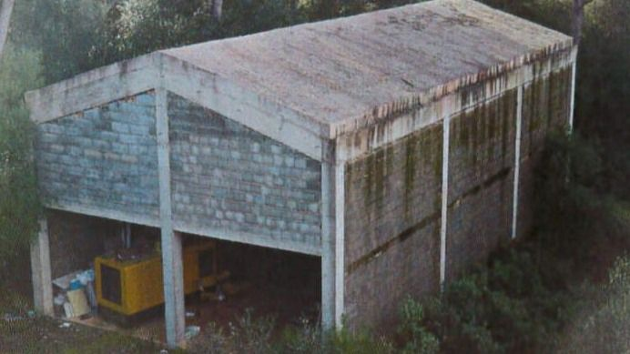 Derriban una vivienda ilegal construida en zona ANEI en Algaida