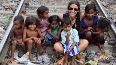 La mallorquina Patricia Moreno expone en Macedonia su visión personal de la Madre Teresa