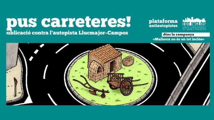 Antiautopistas, antituristas y OCB organizan movilizaciones contra el desdoblamiento Llucmajor-Campos