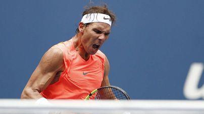 Nadal sufre para vencer a Thiem y se medirá con Del Potro en semifinales