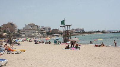 Reabren al baño las playas de Can Pere Antoni y Ciutat Jardí, cerradas por quinta vez este verano