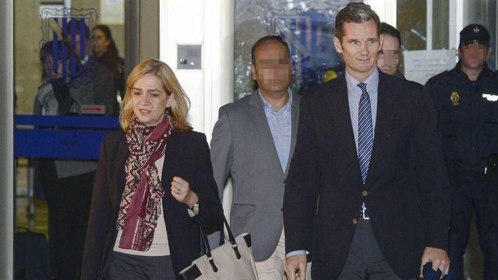 El Ministerio de Justicia devuelve a la infanta Cristina los 322.000 euros de la fianza del caso Nóos