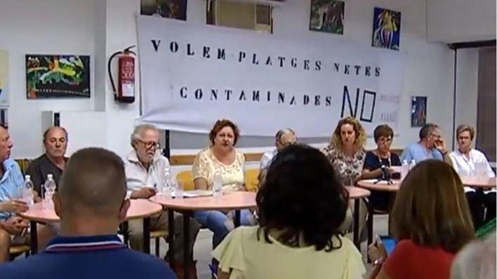 Los vecinos de Palma dicen basta y convocan una manifestación contra los vertidos el 21 de septiembre