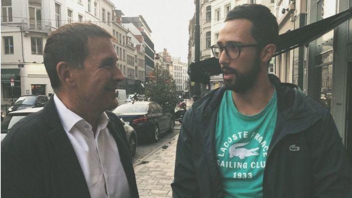 Valtonyc y Arnaldo Otegui se reúnen en Bruselas