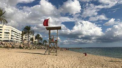 Vuelven a cerrar las playas de Can Pere Antoni y Ciudad Jardín por otro vertido de aguas fecales