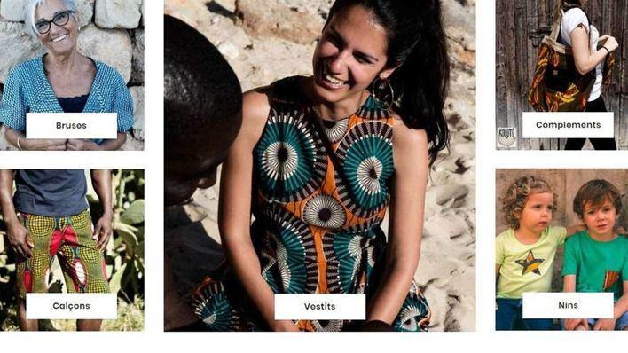La ropa confeccionada en Cáritas Mallorca ya tiene web