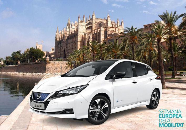 Presenta el nuevo Nissan LEAF en la Semana Europea de la Movilidad de Palma