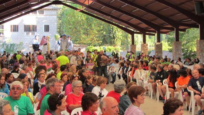 Alrededor de 10.000 marxaires participan en la XXXIX Pujada a Lluc a Peu de la Part Forana