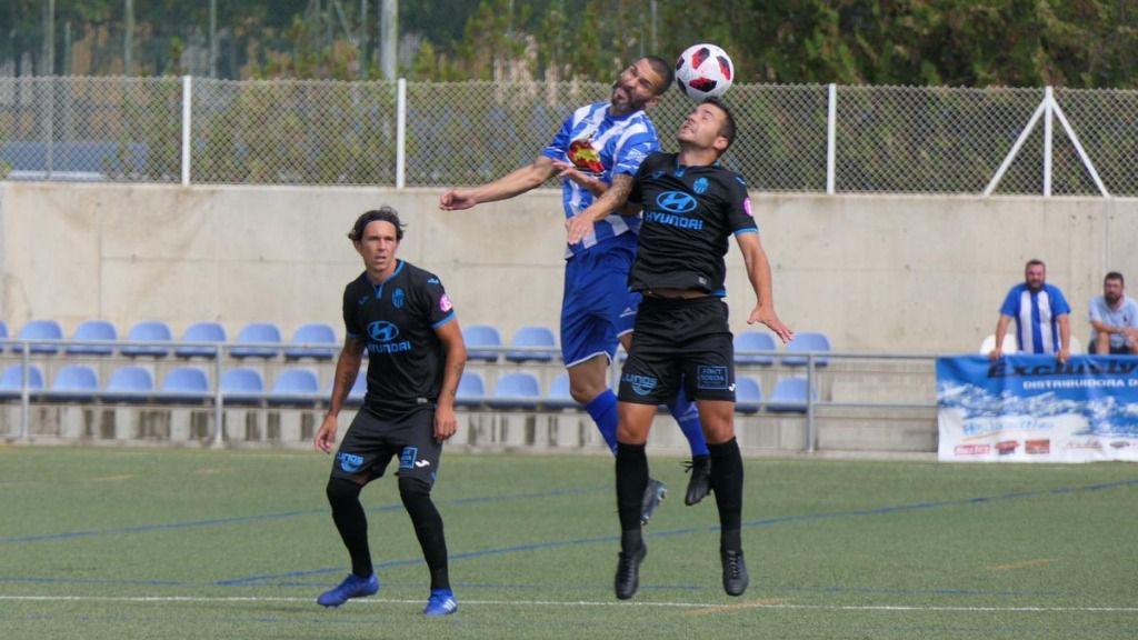 Primera derrota de la temporada del Baleares frente al SD Ejea (2-1)