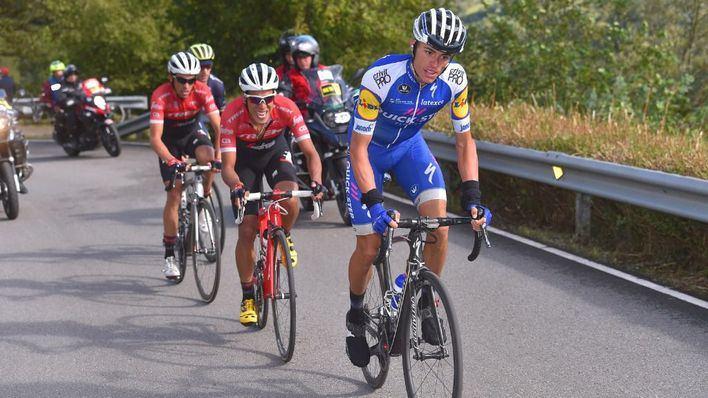 Enric Mas, sexto de la etapa y de la clasificación general de la Vuelta Ciclista España 2018