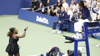 Multa de 17.000 dólares a Serena Williams por violar el código de conducta