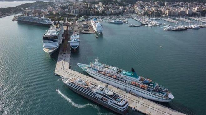 El número de cruceristas se dispara un 23 por ciento en Balears hasta los 1,3 millones
