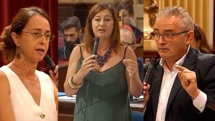 Ciudadanos y El PI reprochan a Armengol los vertidos fecales: 'Estamos de mierda hasta el cuello'