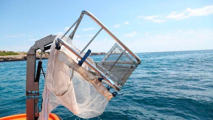 Recogidas 13 toneladas de residuos del mar balear, la mitad plásticos