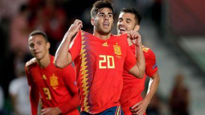 Un descomunal Asensio hace brillar a España ante Croacia