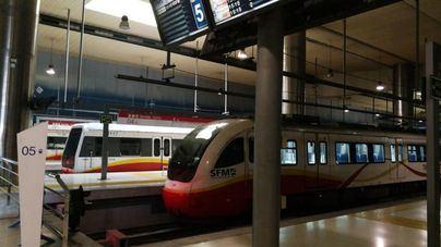 El número de usuarios del metro de Palma sube un 38,3 por ciento