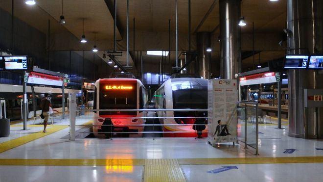El choque del tren de Manacor a su llegada a Palma a las 8:23 provoca diversos contusionados