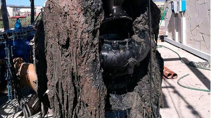 Retiran 475 toneladas de toallitas de las alcantarillas y depuradoras de Palma