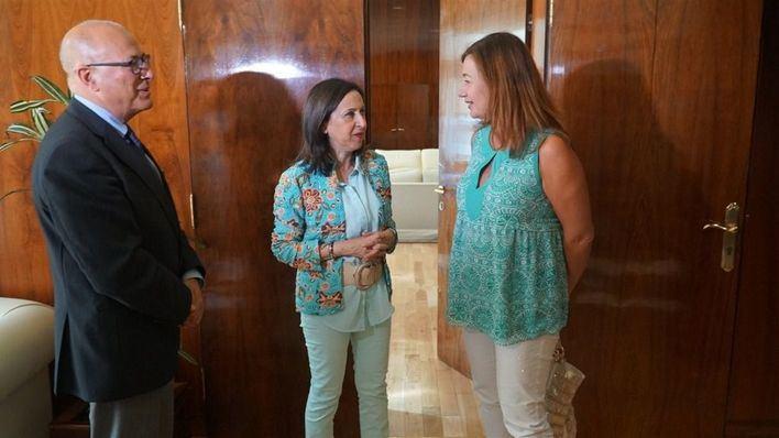 Defensa negociará con Fomento la construcción de 800 VPO en el antiguo cuartel de Son Busquets