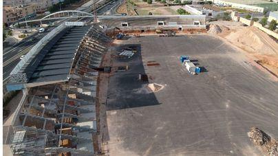 Los balearicos, más cerca de volver a casa: vea las obras del Estadio Balear a vista de dron