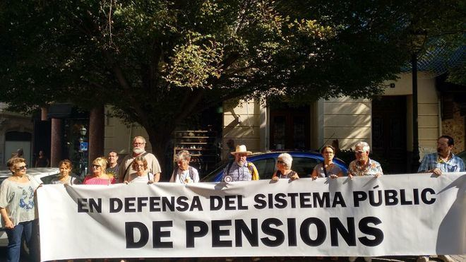 Pensionistas protestan en Palma y anuncian campaña de acciones
