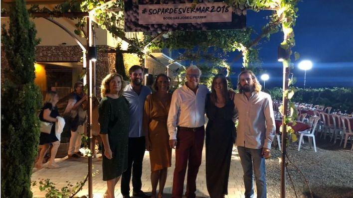 400 personas disfrutan del Sopar des Vermar en las Bodegas Jose Luis Ferrer