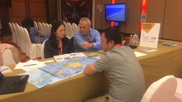 La Aetib promociona Balears en Shangai como destino tursítico