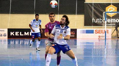 Primer triunfo del año del Palma Futsal por la mínima contra el Fútbol Emotion Zaragoza
