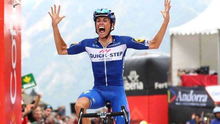 Enric Mas dice que no quiere caer en comparaciones tras su triunfo en la penúltima etapa de La Vuelta