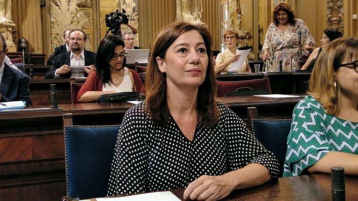 Armengol reitera su respeto a las decisiones judiciales, tras el rechazo de la entrega de Valtonyc