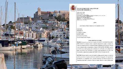 El TSJIB advierte a Autoridad Portuaria y para la adjudicación del Náutico de Ibiza