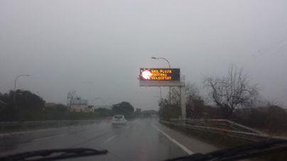 Alerta por fuertes chubascos y tormentas en Mallorca