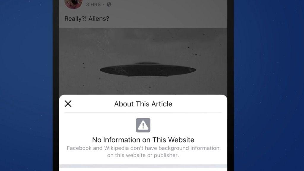 Facebook refuerza su lucha contra la información falsa