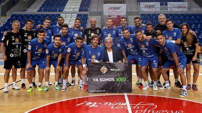 El Palma Futsal alcanza los 3.000 abonados