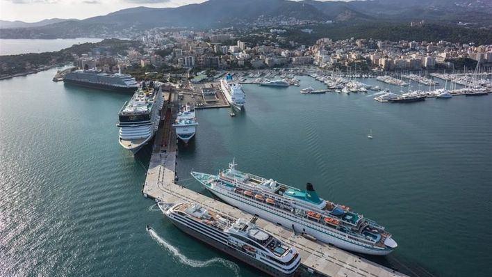 Los puertos de Balears recibieron más de 1,3 millones de cruceristas hasta julio