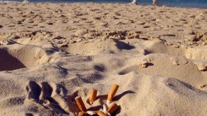 Ciudadanos pide una campaña contra las colillas en las playas de Calvià