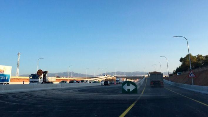 Reabierta la rotonda de la carretera vieja de Sineu con la Ma-30