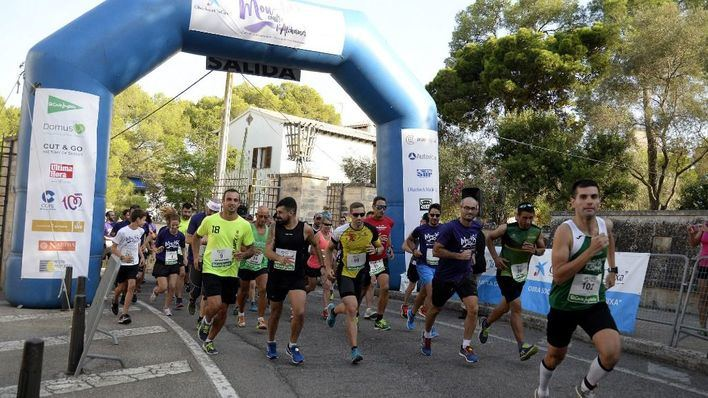 Más de 200 personas en I Cursa/Passejada 'Mou-te contra l'Alzheimer'