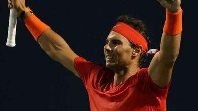 Nadal sigue al frente de la ATP con 8.760 puntos
