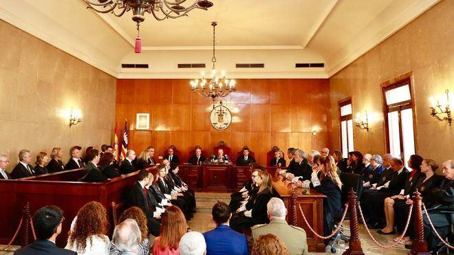 Baleares comienza el año judicial con 61.000 casos pendientes en los juzgados