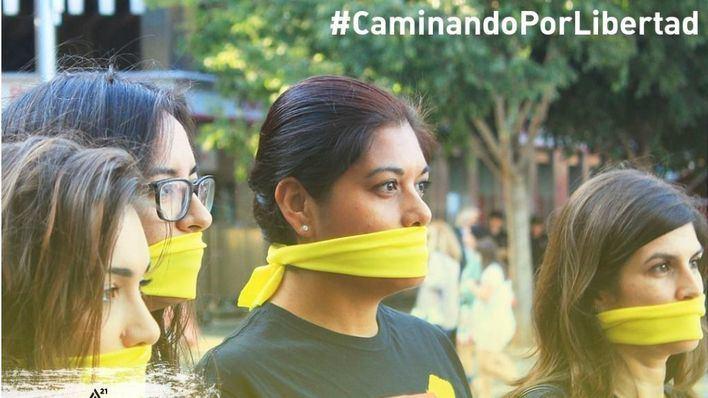 Caminata en Palma contra la trata y esclavitud sexual el 20 de octubre